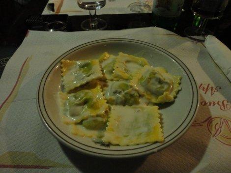 ravioli gorgonzola