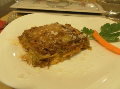Lasagna verde alla bolognese